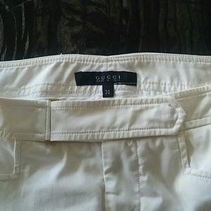 🎉SALE🎉GUCCI - white low waist pants
